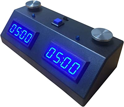 ZMF-II Chess Clock - Black with Blue LED