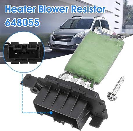 Calentador Soplador de Ventilador Resistor Peugeot Partner 2003-2008 Se adapta a Citroen Berlingo