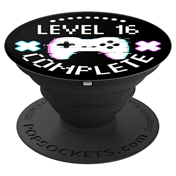 Amazon 16th Birthday Level 16 Complete Gamer Boy Gift Funny