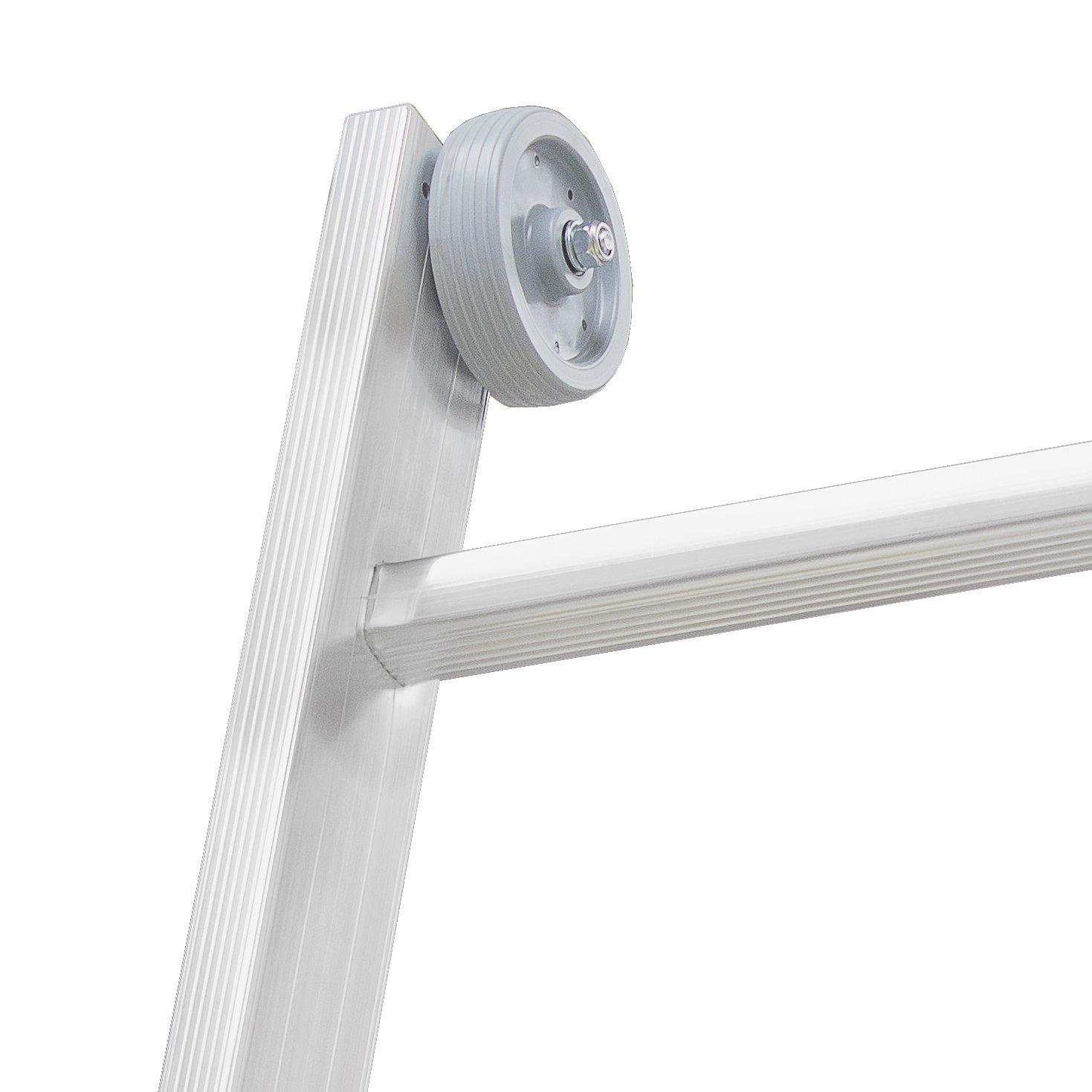 HYMER 0054010 Wandlaufrollenset Durchmesser 90 mm