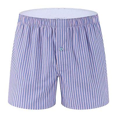 ANJUNIE Men's Boxer Briefs Pajama Home Shorts Casual Household Pants Underwear Beach Short Trouser: Clothing