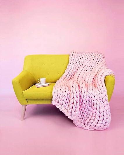 Amazon.com: VIYEAR Machine Washable New Material Bulky Knit ...