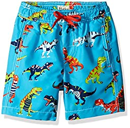 Hatley Little Boys\' Swim Trunks, Roaring T/Rex, 2