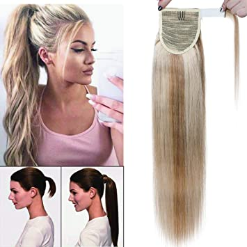 Sunny Remy Clip In Ponytail Hair Extensions Human Dark Brown Brazilian Extension Real 100g Sunnyhair