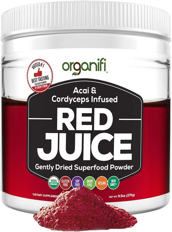 Amazon Com Organifi Red Juice Organic Superfood Supplement
