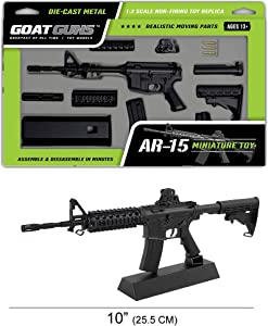 GoatGuns Miniature AR15 Model | 1/3 Scale Build Kit
