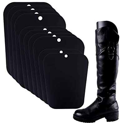 a2a4eb534 Resinta 5 Pairs (10 Sheets) Boot Shaper Form Inserts Boots Tall Support for  Women