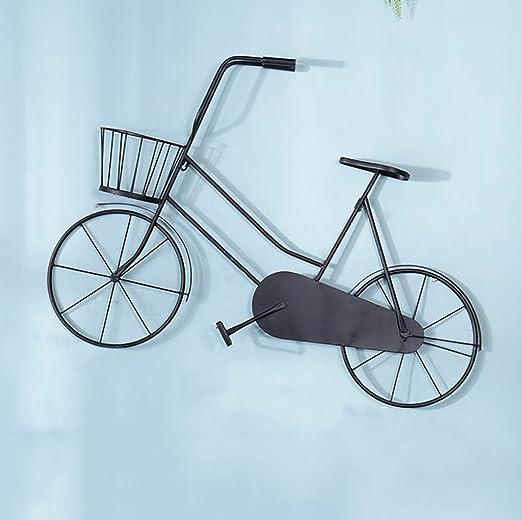 GWW decoración de Pared Bicicleta Vintage de Hierro Colgante de ...