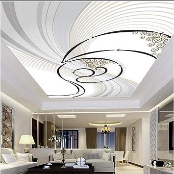 3d Wallpaper Custom Mural Non Woven Print Ed Wall Paper Abstract Art Living Room Roof Ceiling Wall Painting Wallpaper Murals 3d Amazon Com
