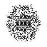 Heritage Lace Cottage Rose 15-Inch Round Doily, Ecru, Set of 2