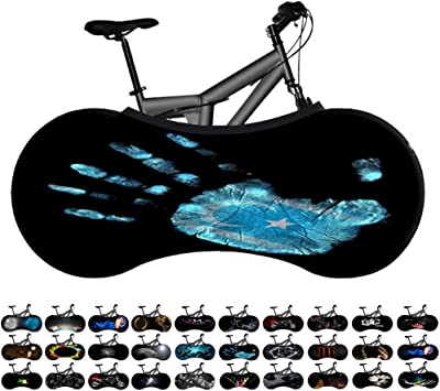 """26/"""" Bicycle Protective Cover Bike Tire Socks Dust-Proof Scratch-Proof Gear Cover"""