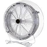 Vent-a-matic Cord Operated Fan 162mm DGS 106 for DBL Glazing