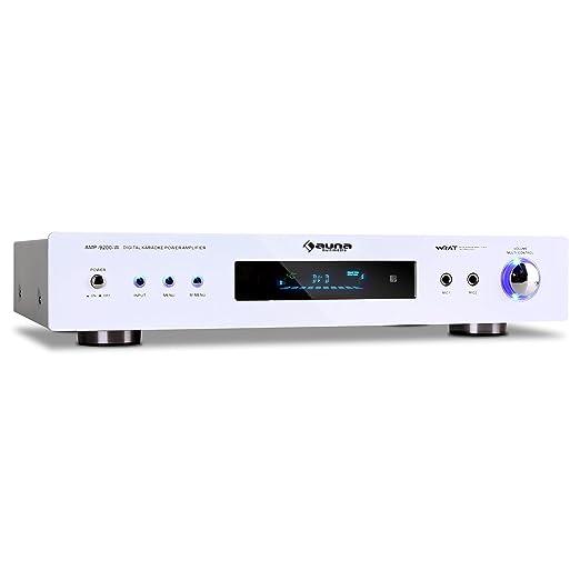 4 opinioni per auna AMP-9200 amplificatore Hi Fi (600 Watt, ingressi RCA e jack, sintonizzatore