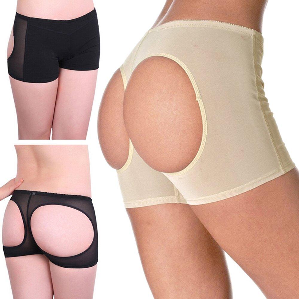 OMG Women Butt Lifter Boy Shorts Seamless Enhancer Underwear Control Shapewear Panty