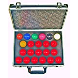 SGL Aramith Full Size Snooker Balls With Case