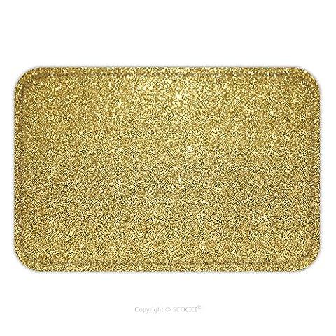 Flannel Microfiber Non-slip Rubber Backing Soft Absorbent Doormat Mat Rug Carpet Gold Glitter Background 344991020 for (Rubber Spike Phone Case)