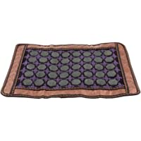 F Fityle Natural Jade Stone Cooling Summer Pillow Cover Massage Cover Pad Mat for Home - Fatigue Relief
