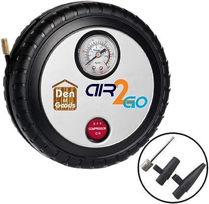 Inflador Bomba de Neumáticos - Para Bicicletas, Coches, Camiones y ...