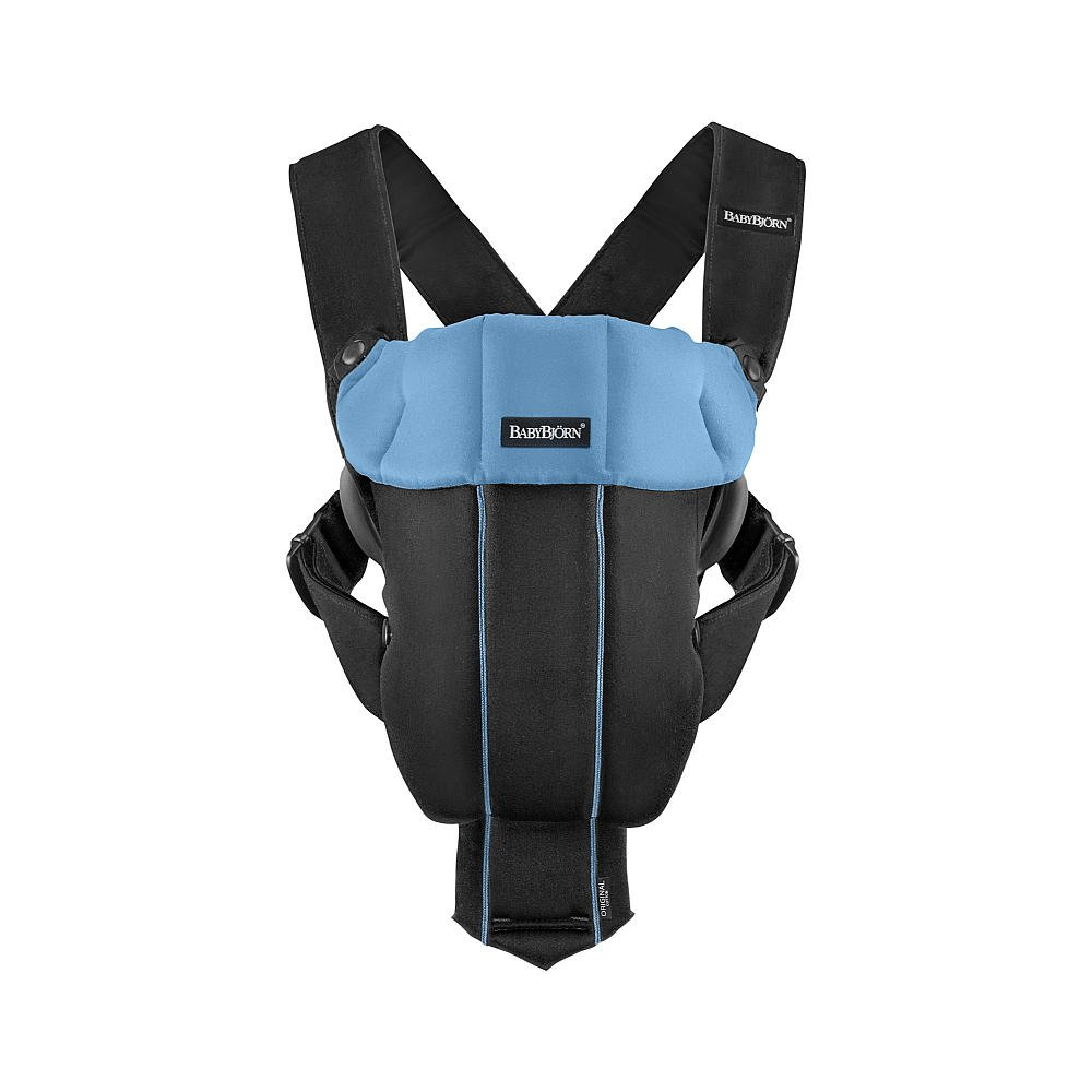 BabyBjorn Baby Carrier Original – Black Light Blue