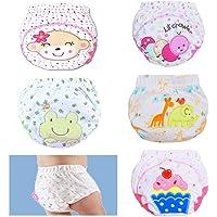 EUYOUZI 5 Pack Toddler Potty Training Pants, 5