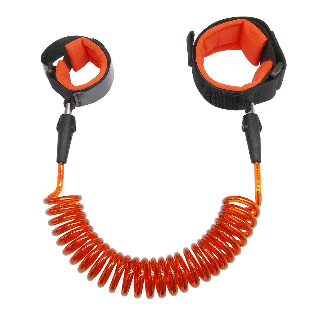 Anti Lost Wrist Link 2.5M Safety Wrist Link for Toddlers, Children & Kids (Orange) by Blisstime
