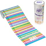 Measure Me! Roll-up Height Chart for Children - Pastel Rows