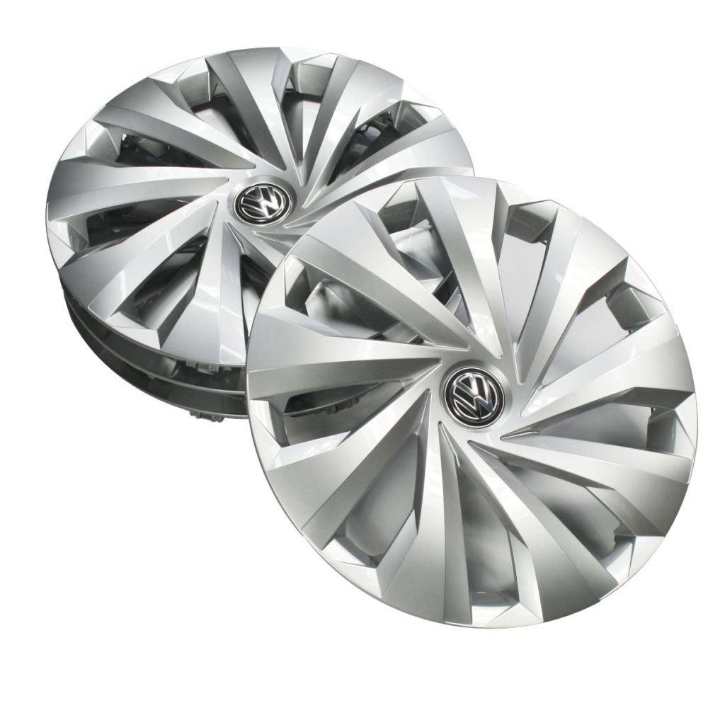Copricerchi Caps Cerchi in Acciaio Volkswagen 2/g0071455/Copricerchi 15/Pollici Copricerchi Argento 4/Pezzi