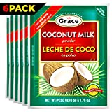 Grace Dry Coconut Milk Powder with eBook, Pack of 6