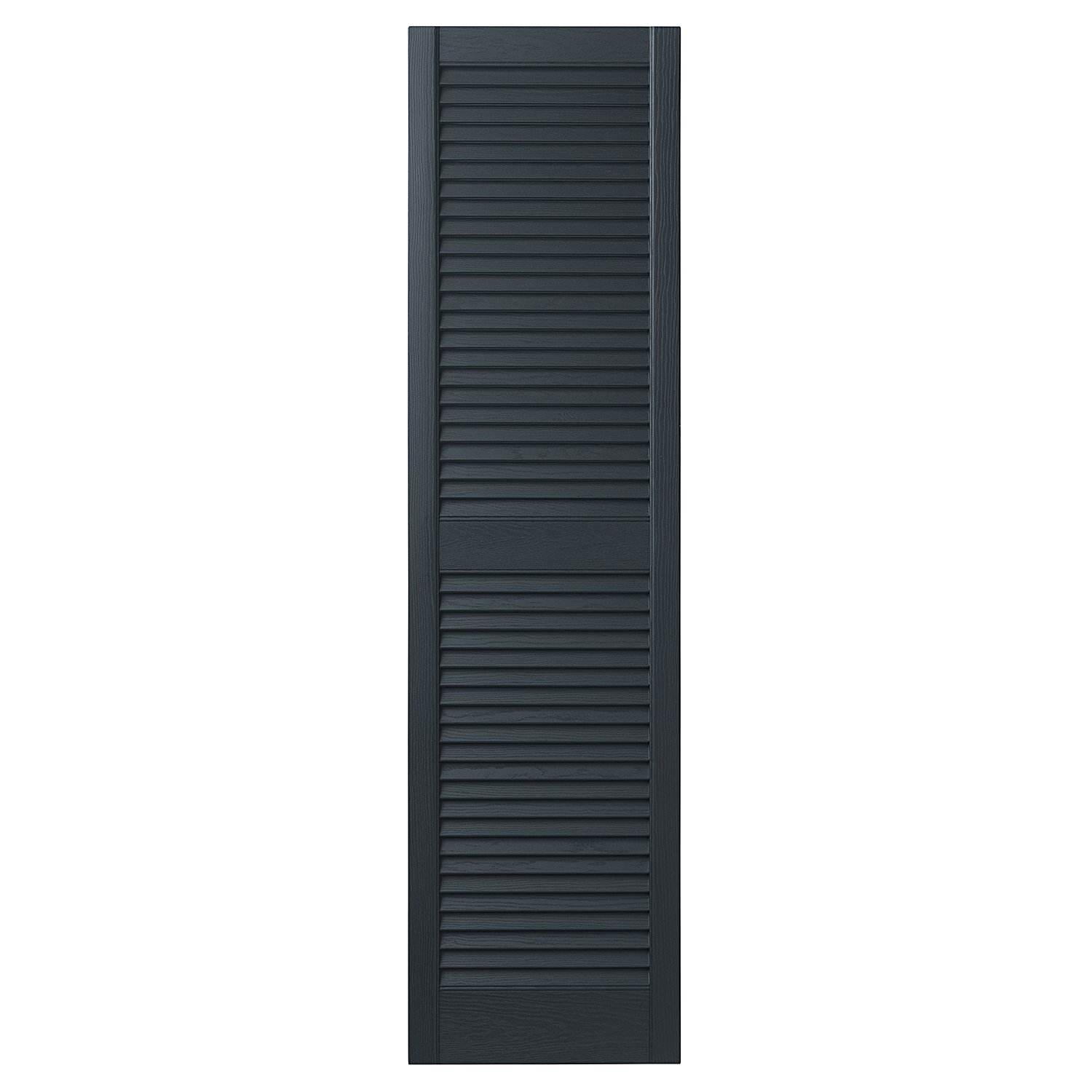 Ply Gem Shutters and Accents VINLV1567 56 Louvered