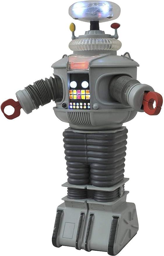 Perdu dans l/'espace ✰ Robot B-9 ✰✰ Remote Control ✰✰ 1998 SCELLÉ NOUVEAU Toy Island DGSIM