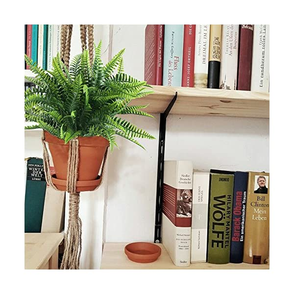 Nahuaa-4Pcs-Artificial-Boston-Fern-Plants-Fake-Evergreen-Shrubs-Faux-Plastic-Greenery-Bushes-Bundles-Indoor-Outdoor-Hanging-Basket-Filler-Home-Kitchen-Table-Centerpieces-Arrangement-Spring-Decorations