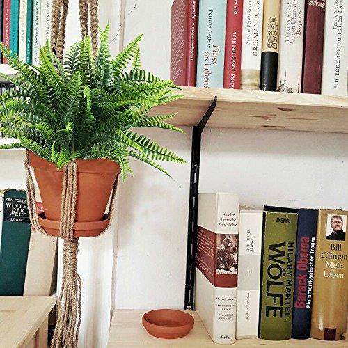 Nahuaa-4Pcs-Artificial-Boston-Fern-Plants-Fake-Evergreen-Shrubs-Faux-Plastic-Greenery-Bushes-Bundles-Indoor-Outdoor-Hanging-Basket-Filler-Home-Kitchen-Table-Centerpieces-Arrangement-Spring-Decorations