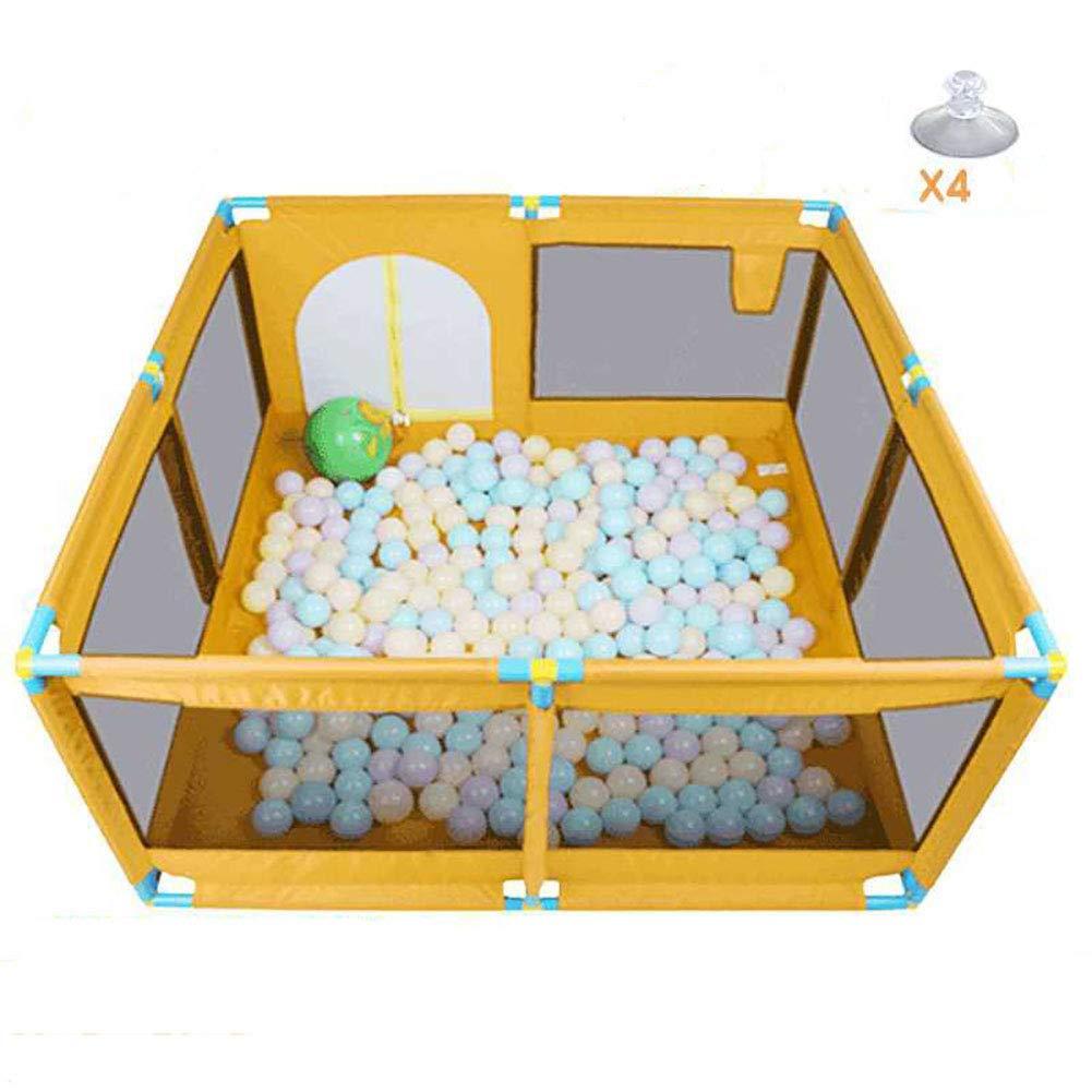 赤ちゃんの囲い ベビーシューティングフェンスオーシャンボールプール子供の屋内遊び場(オレンジ)   B07JDQ77MH