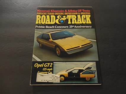 Road Track Dec 1975 Porsche Turbo Driving Impression And Analysis