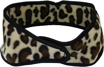 Animal Polar Fleece Ear Muff Head Wrap with Velcro Closure