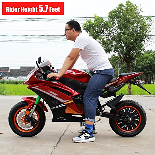 Buy Bicycle Online >> DONGFANG FALCON-E 2000W Electric Scooter Moped Motorcycle Bicycle Bike Sport 72V White - Buy ...
