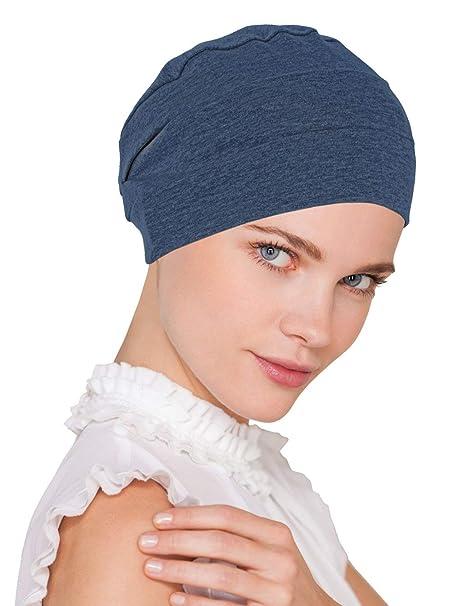 5de70ac2235 Chemo Cap Womens Soft Cotton Knit Beanie Sleep Turban Hat Headwear for  Cancer
