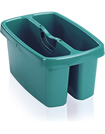 Leifheit Combi Box - Caja para utensilios de limpieza de plástico, 36.5x23.6x18