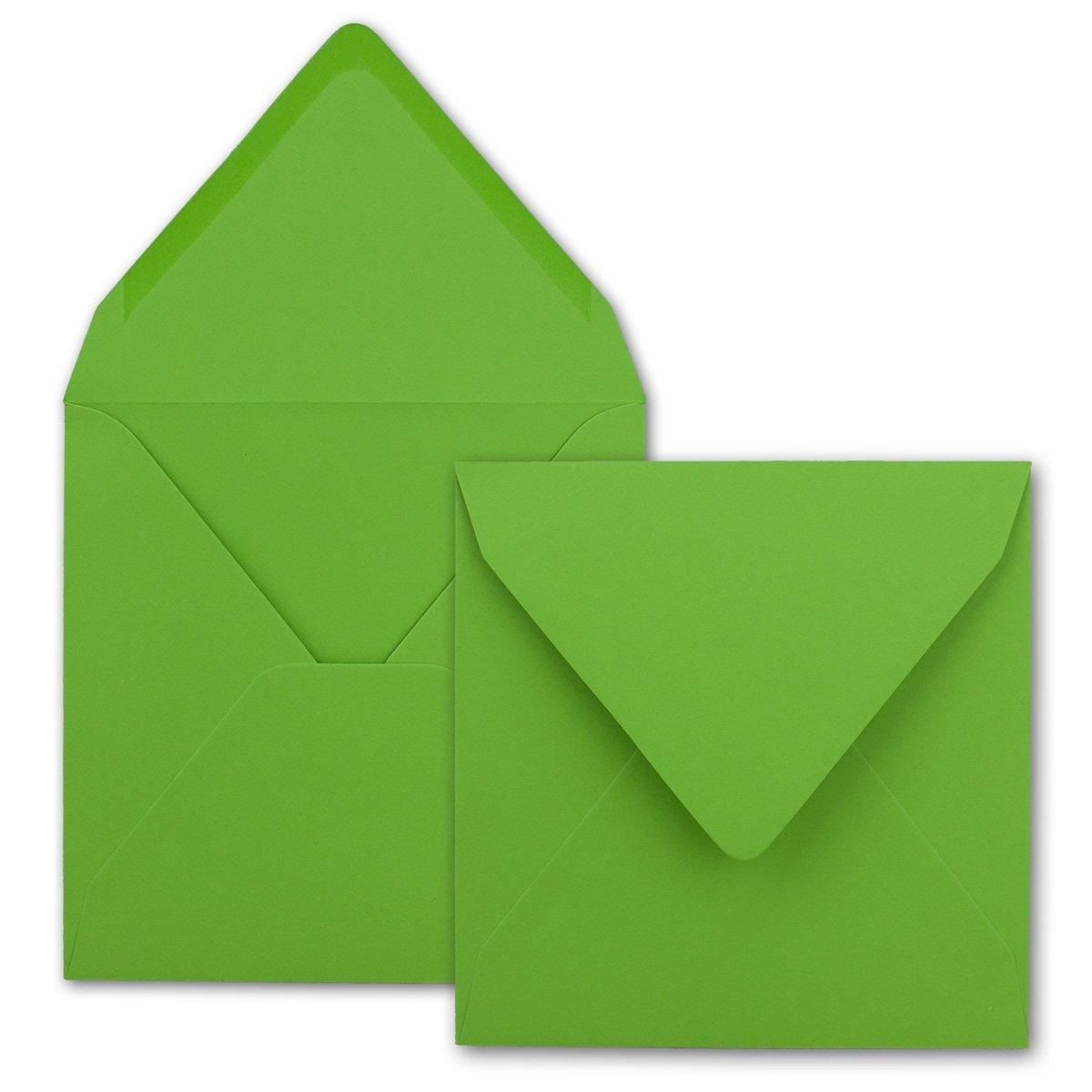 Quadratische Brief-Umschläge - Farbe Hochweiss   150 150 150 Stück   155 x 155 mm   Nassklebung   Für Einladungen & Hochzeit    Serie FarbenFroh® B01FFJL1D0 | Deutschland Online Shop  000c02