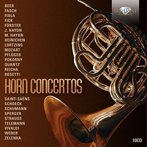 CD : FELIX KLIESER - PETER DAMM - ANDREW JOY - Horn Concertos (Boxed Set)