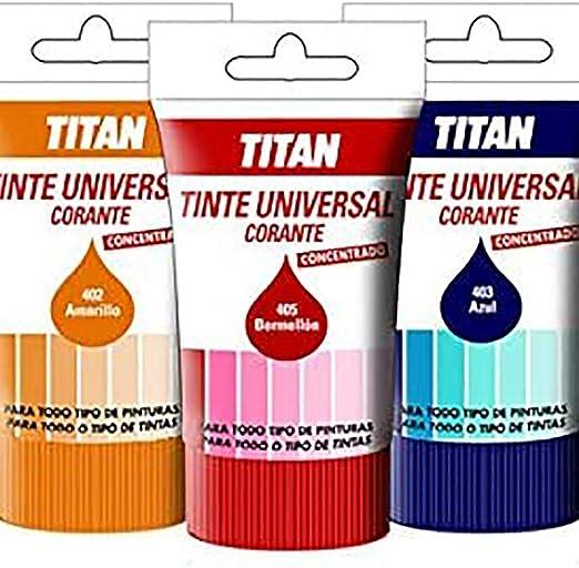 Titan - Tinte universal violeta titan 50 ml: Amazon.es ...