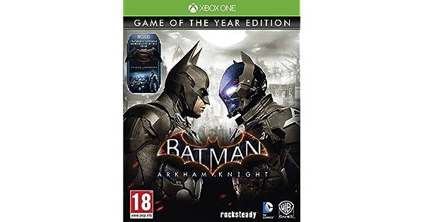 Batman: Arkham Knight - Game Of The Year Edition [Importación ...