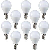 V-Tac LED 3w P45 Golf Ball Bulbs - PACK OF 10 - E14 / SES - Warm White 2700K