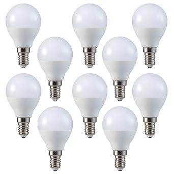 Conjunto de 10 - ZONE LED SET - E14-3W - Bombilla LED, G45