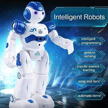 Smart RC Robot Toys Remote Control Dancing Singing Gesture Sensor Kids Xmas Gift
