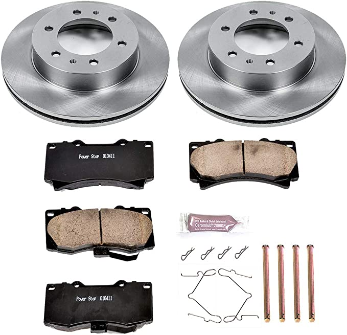 Autospecialty KOE2295 1-Click OE Replacement Brake Kit