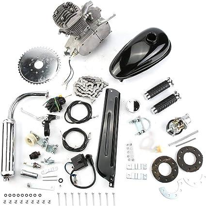 80 ccm de 2 del Gas del Motor Motor bicicleta Kit motorizado Kit ...