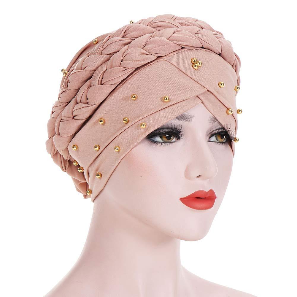 LU KU Kopftuch Kopfbedeckungen Unbegrenzte Slouchy Snood-Caps f/ür Frauen mit Chemo Cancer Cancer Womens Elastic Hat Bandanas Mehrere Farben erh/ältlich Indische H/üte