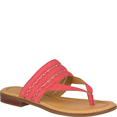 f32d3c62f85 Sperry Women s Gold Cup Flat Abbey Anne Wild Rose Sandal
