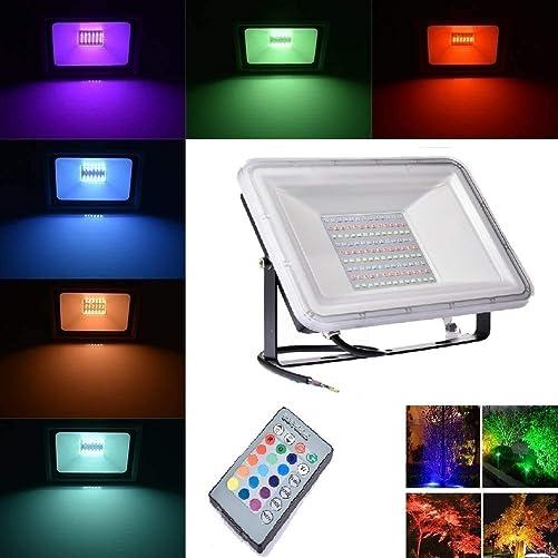 LumenBasic 12 Volt LED Flood Light IP66 Waterproof Bright 12v Low Voltage White Light 6000k